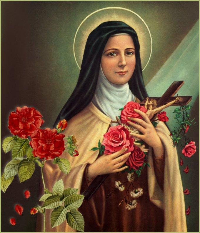 Le 1er octobre : Sainte Thérèse de L'Enfant Jésus