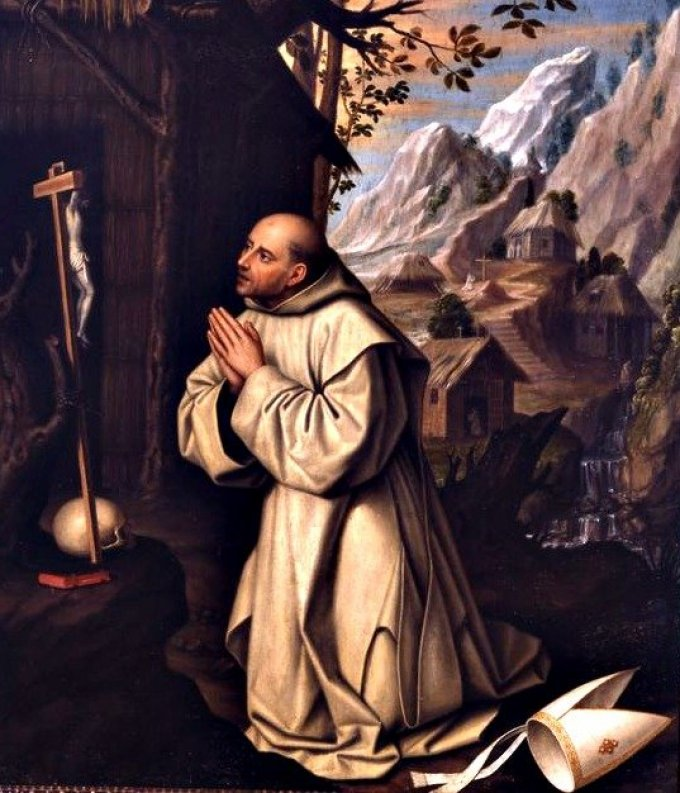 Le 6 octobre : Saint Bruno