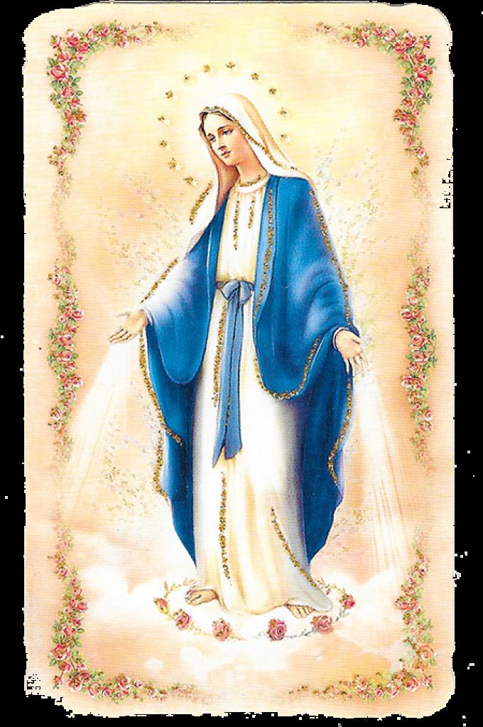 Marie que son nom ne quitte pas ton coeur.