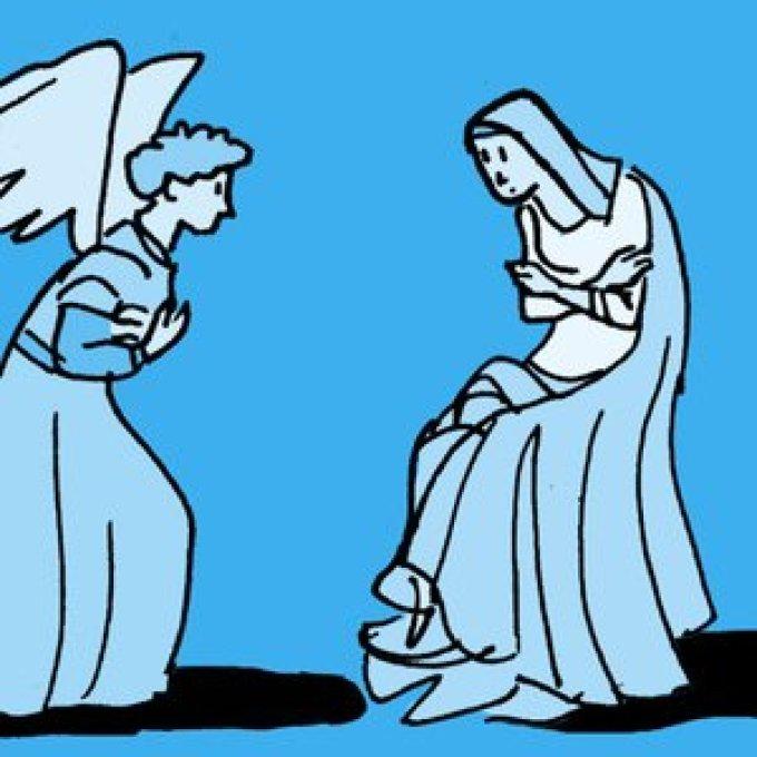 7- Priez pour nous, pauvres pécheurs