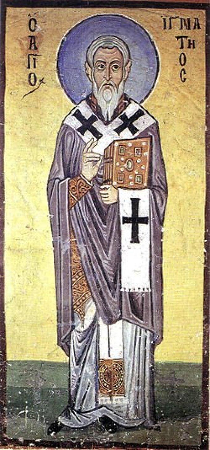 Le 17 octobre : Saint Ignace d'Antioche