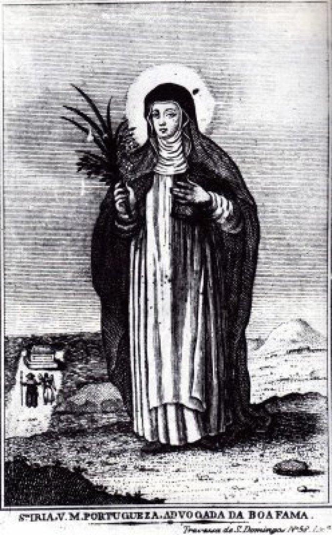 Le 20 octobre : Sainte Irène de Tomar