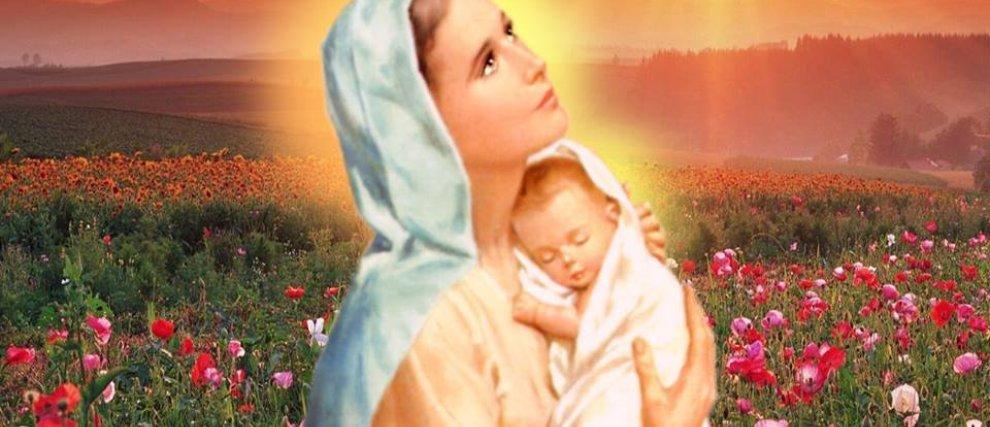 Marie, mon Modèle et mon Refuge