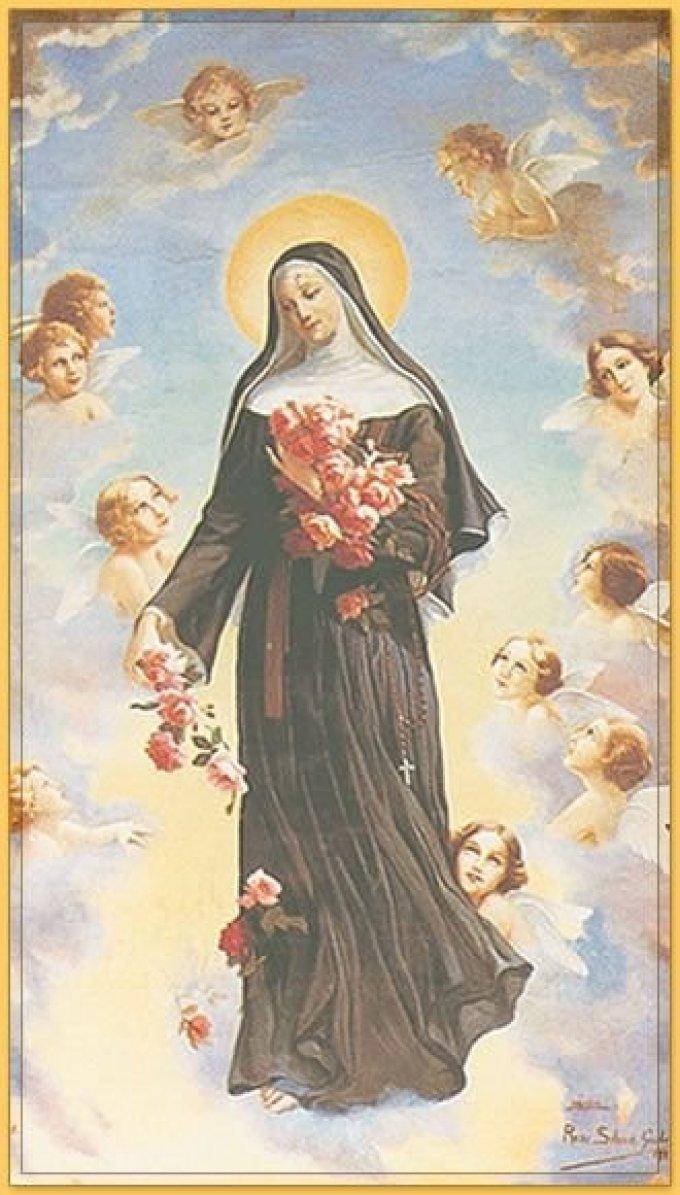 Prière à Sainte-Rita pour un défunt
