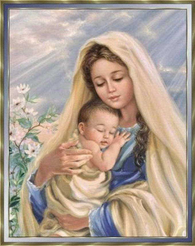 Marie est toujours auprès de nous