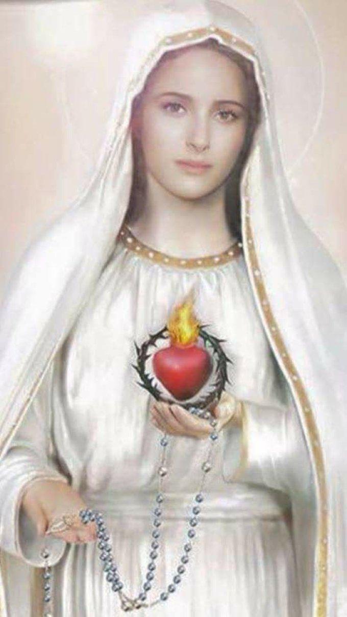 Coeur immaculé et miséricordieux de Marie