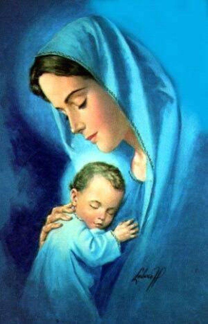 Santa Madre, ti ringraziamo per questo mese di ottobre.