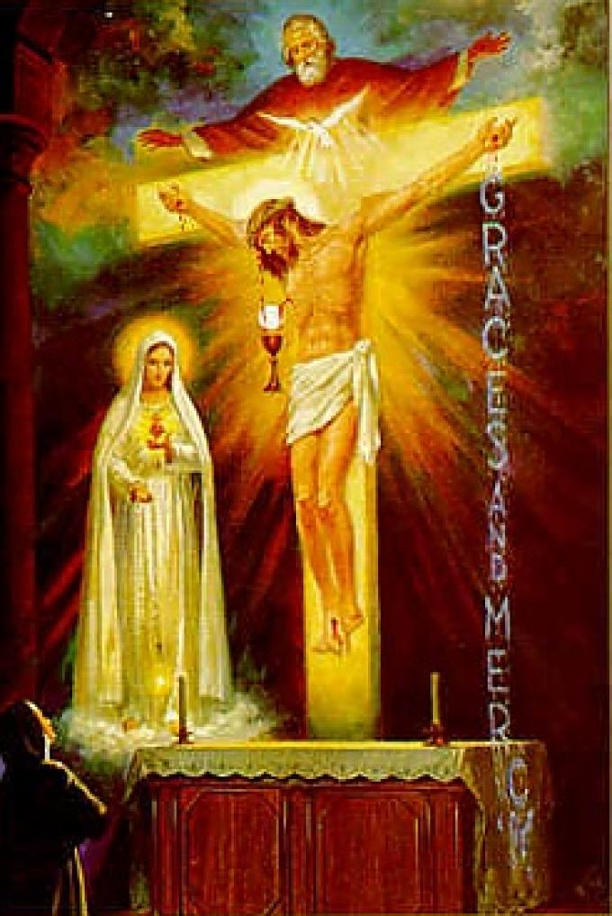 Le moment est venu ou Dieu demande …..la consécration de la Russie.....