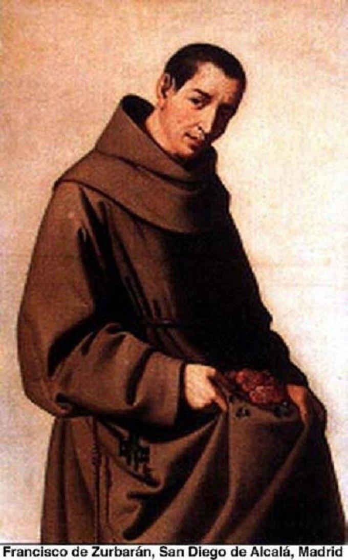 Le 12 novembre : Saint Diego