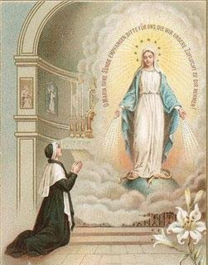 J 1 - Neuvaine à Notre-Dame de la Médaille Miraculeuse