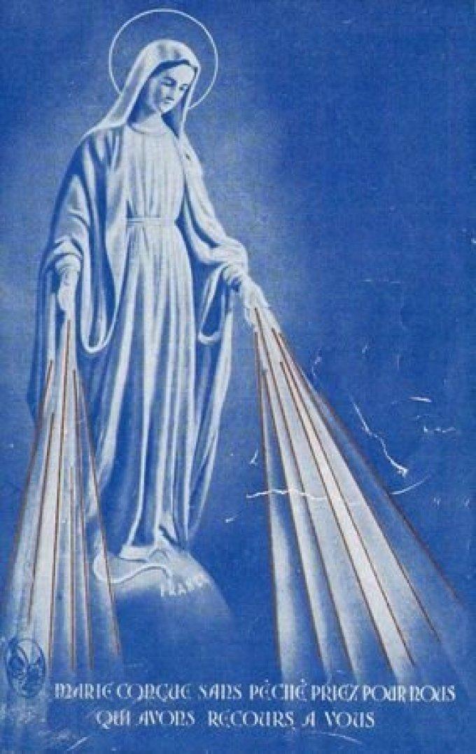 J 5 - Neuvaine à Notre-Dame de la Médaille Miraculeuse