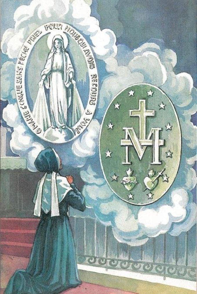 J 7 - Neuvaine à Notre-Dame de la Médaille Miraculeuse
