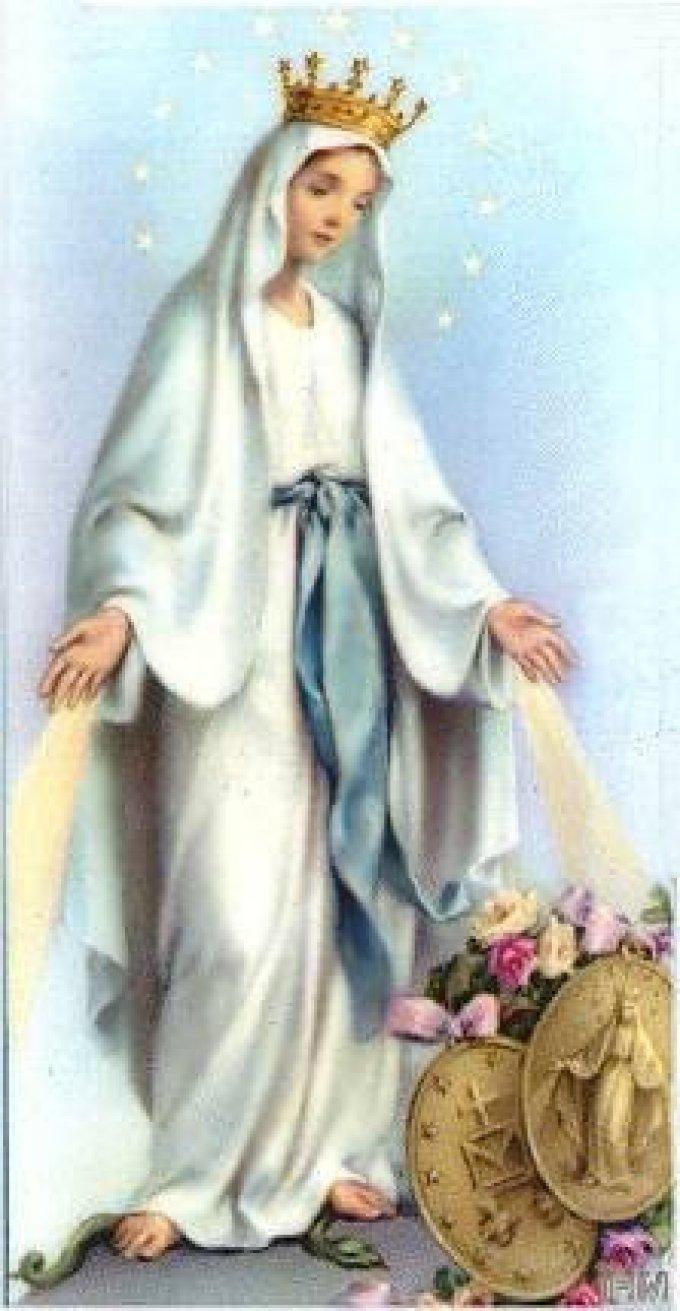J 9 - Neuvaine à Notre-Dame de la Médaille Miraculeuse