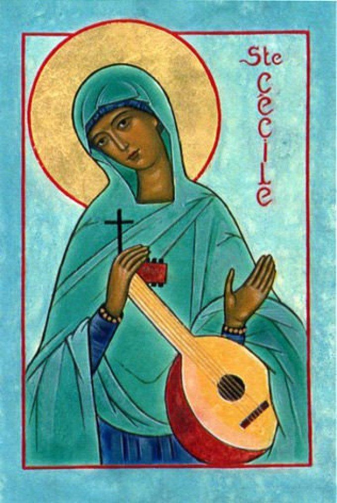 Le 22 novembre : Sainte Cécile de Rome
