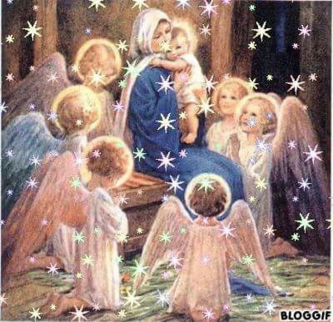 Marie influence la vie de l'Eglise par sa charité, sa paix, sa joie