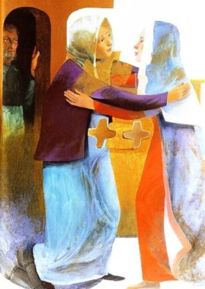 Se remémorer la visitation  Luc 1, 39 - 57
