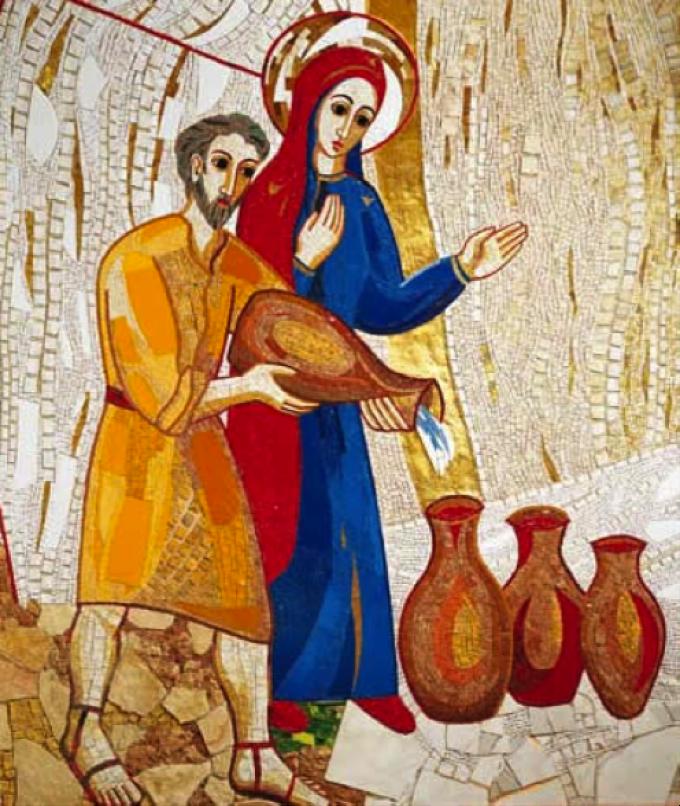 Jésus se révèle aux noces de Cana Jean 2, 1 - 11