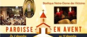 Basilique Notre Dame des Victoires en Avent !