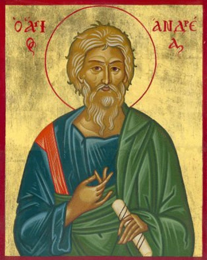 Le 30 novembre : Saint André