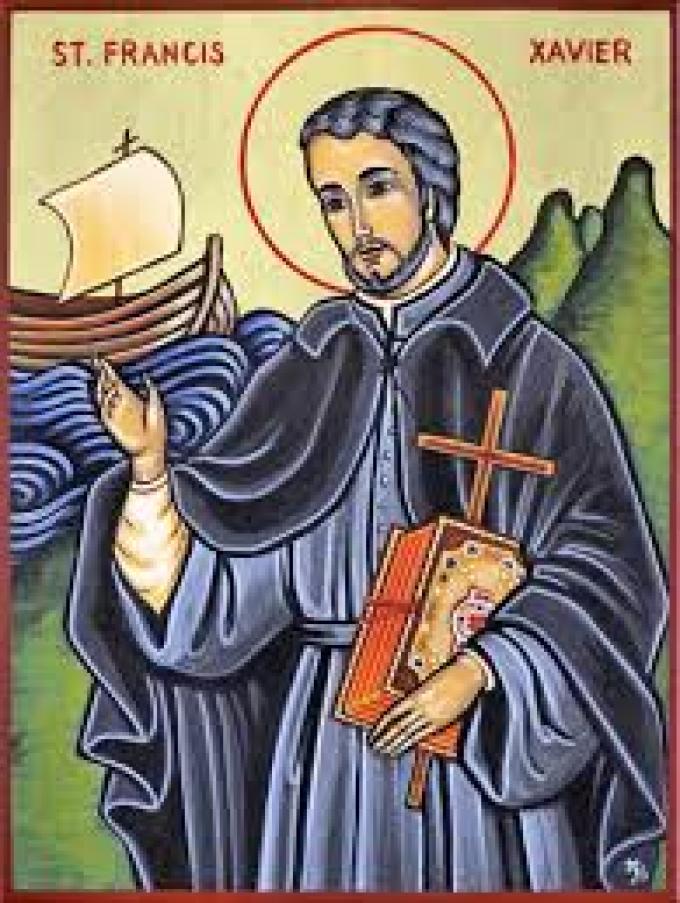 Le 3 décembre : Saint François-Xavier