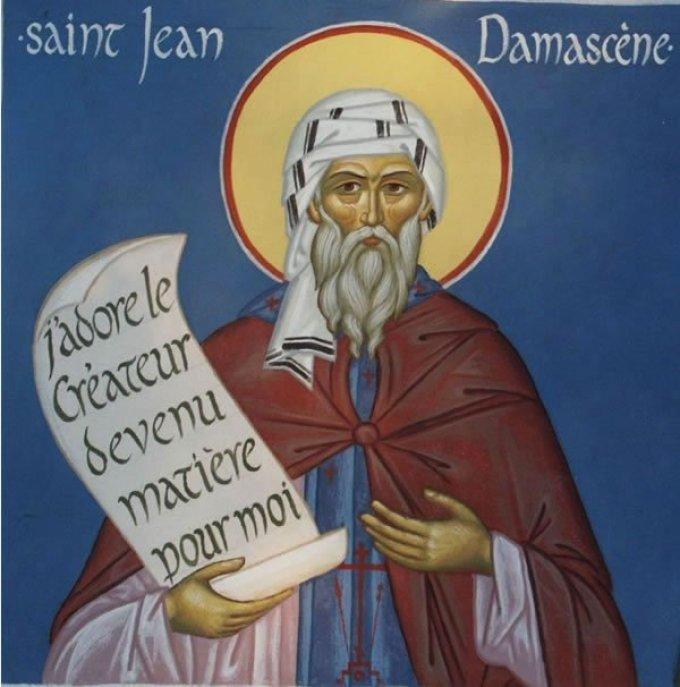 Le 4 décembre : Saint Jean Damascène