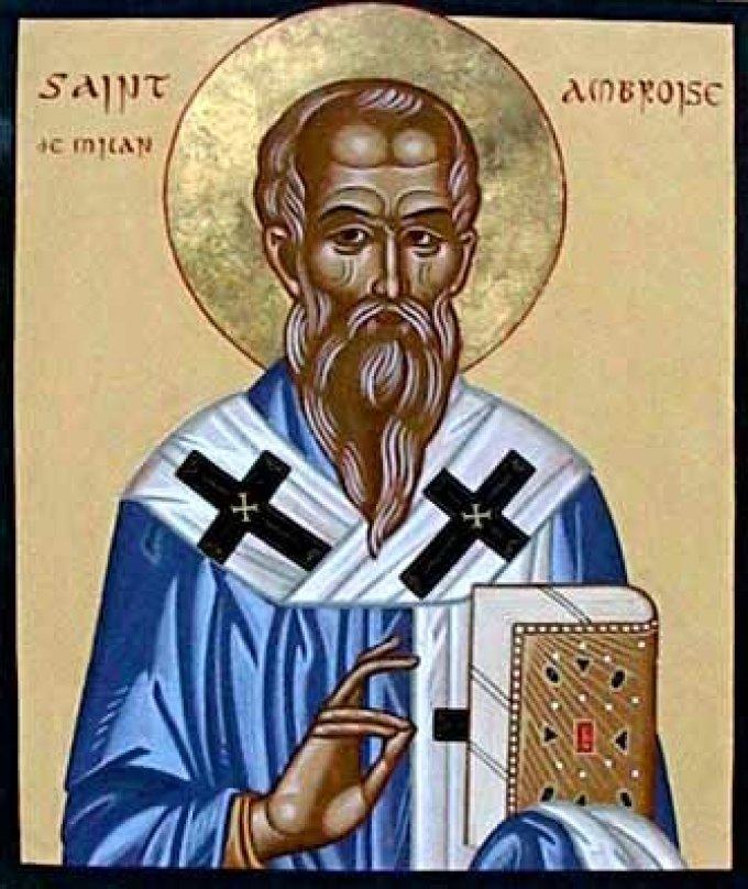 Le 7 décembre : Saint Ambroise