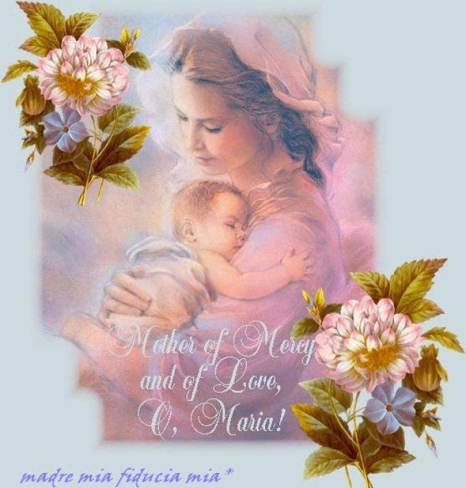 Prière à Marie pour toute l'année