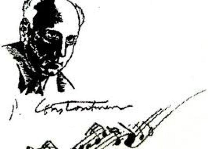 Paul Constantinescu : L'Oratorio Byzantin de Noel