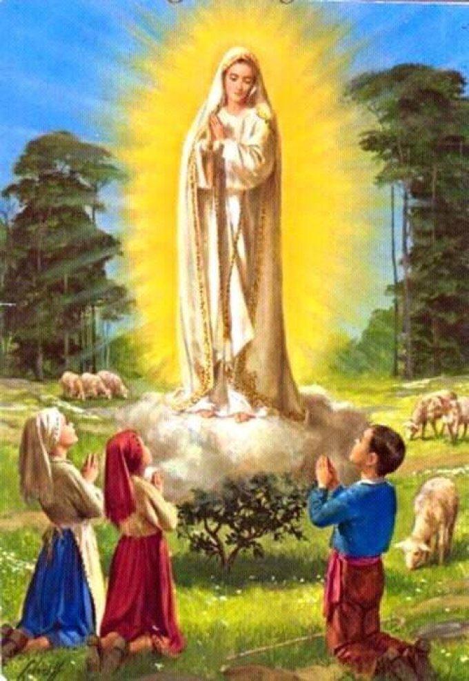 Sainte Marie, priez pour nous!