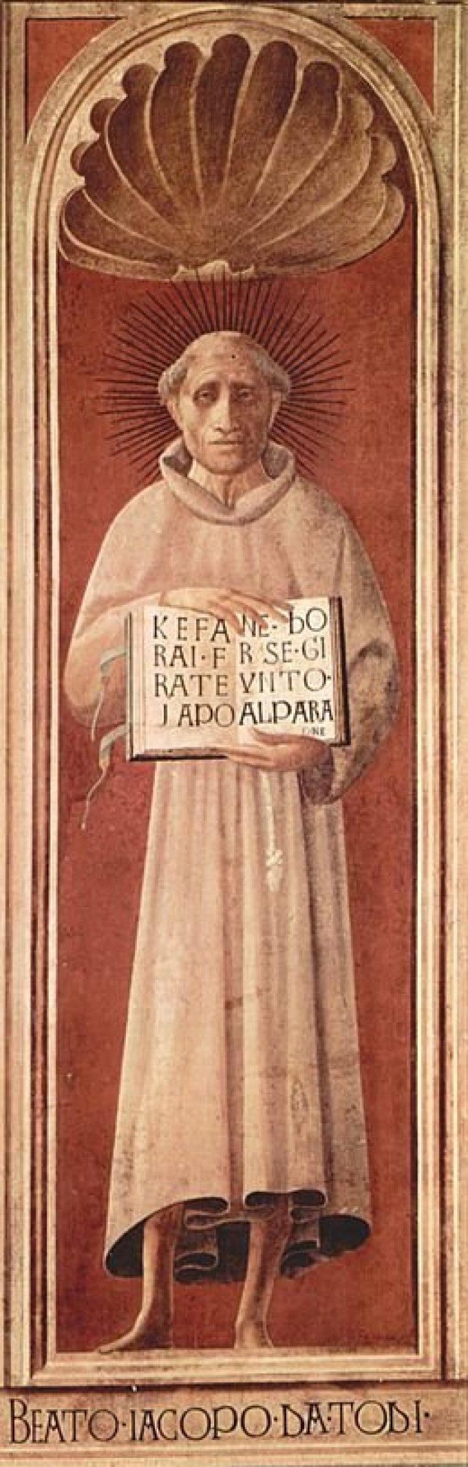 Le 25 décembre : Saint Jacopone de Todi