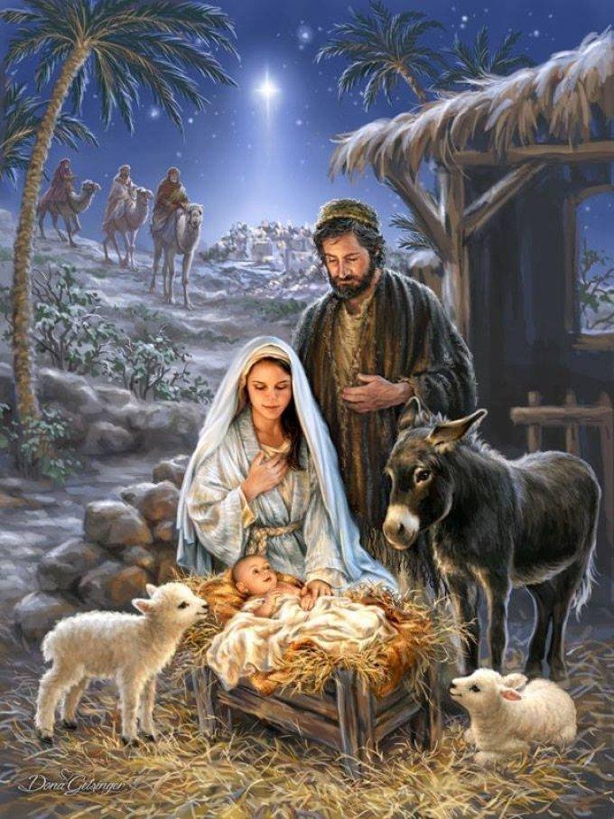 Noël, la fête de la joie, de la paix et de l'amour