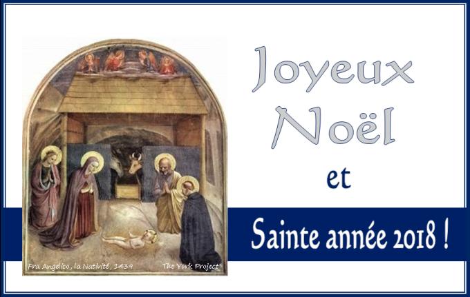 Merci pour le soutien de vos prières et Sainte Année de la fidélité !