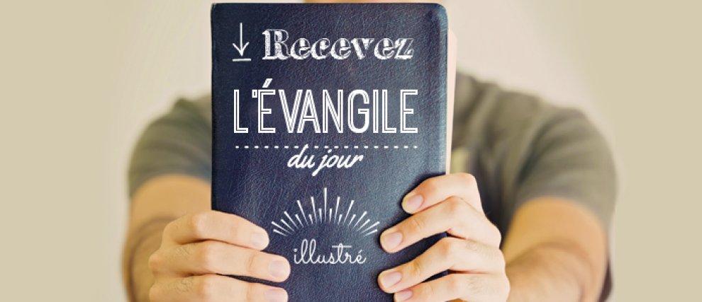 Prier avec l'Évangile du jour en image