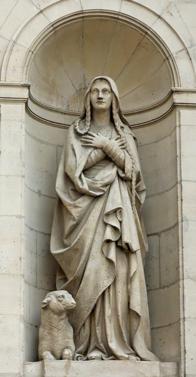 Le 3 janvier : Sainte Geneviève