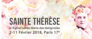 9 jours avec Ste Thérèse à Ste Marie Batignolles