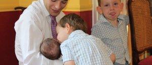 Prions pour Por mes enfants Et petite enfants