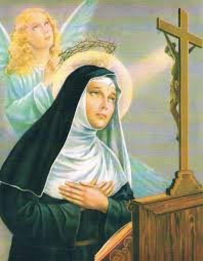 Sainte Rita, j'implore votre protection