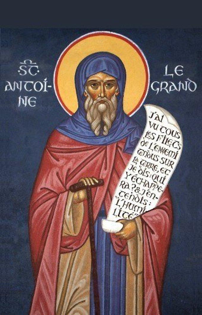 Le 17 janvier : Saint Antoine le Grand