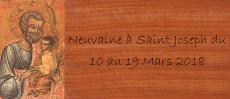 Neuvaine à Saint Joseph du 10 au 19 Mars 2018