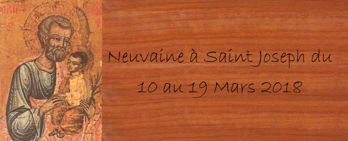 11 MARS, 2e JOUR DE LA NEUVAINE : Saint Joseph, guide pour l'homme d'aujourd'hui