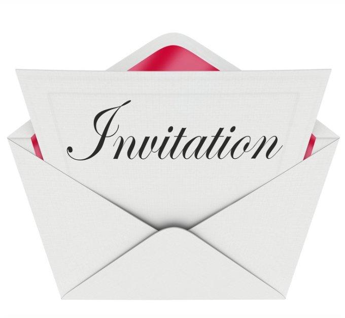 Invitation spéciale !!