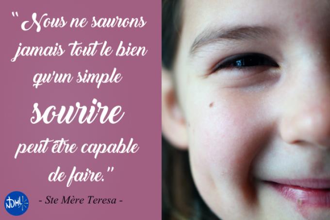 Mercredi des Cendres : un sourire qui change tout !