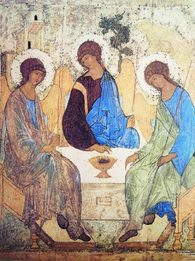 Au nom du Père, et du Fils, et du  Saint Esprit