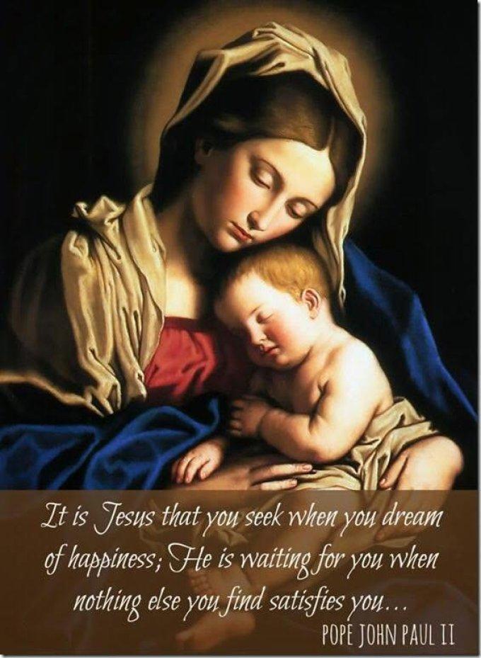 Prière infaillible à la vierge marie