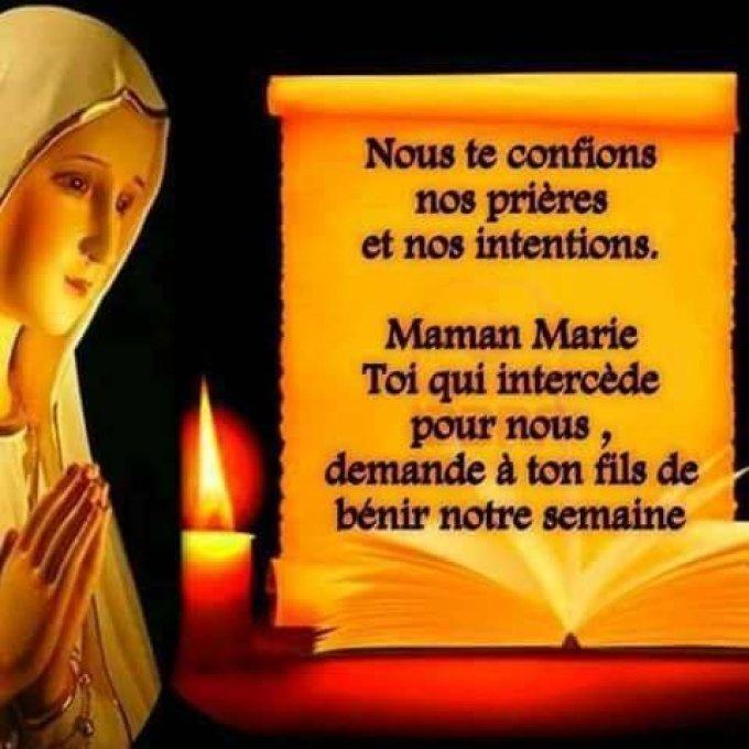 Maman Marie, intercède pour nous