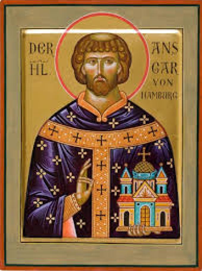 Le 3 février : Saint Anschaire