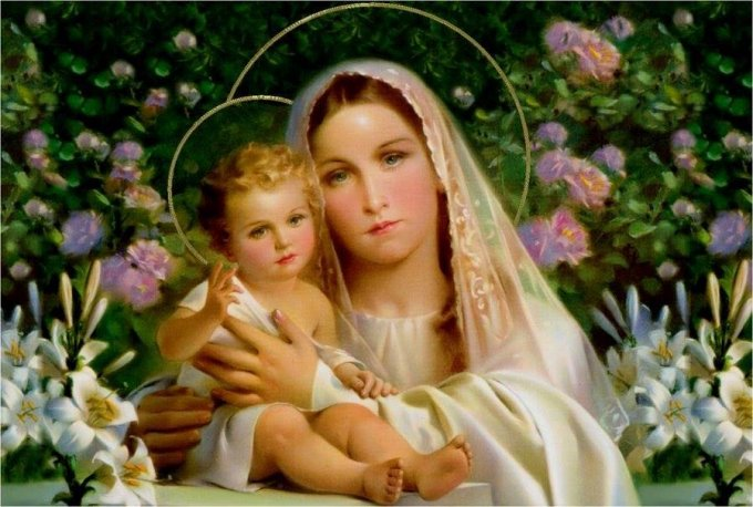 Le Saint-Père a rappelé dimanche l'importance de prier la Vierge Marie.
