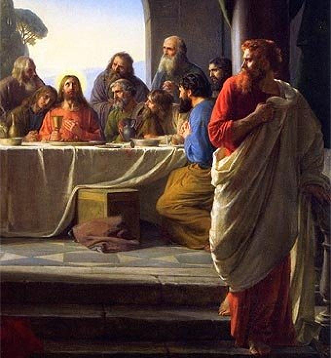 Mercredi saint - La trahison de Judas