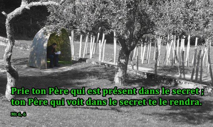 Prie ton Père qui est présent dans le secret