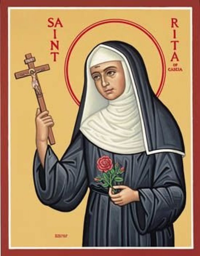 Prions avec Sainte Rita pour vivre le Carême par le partage